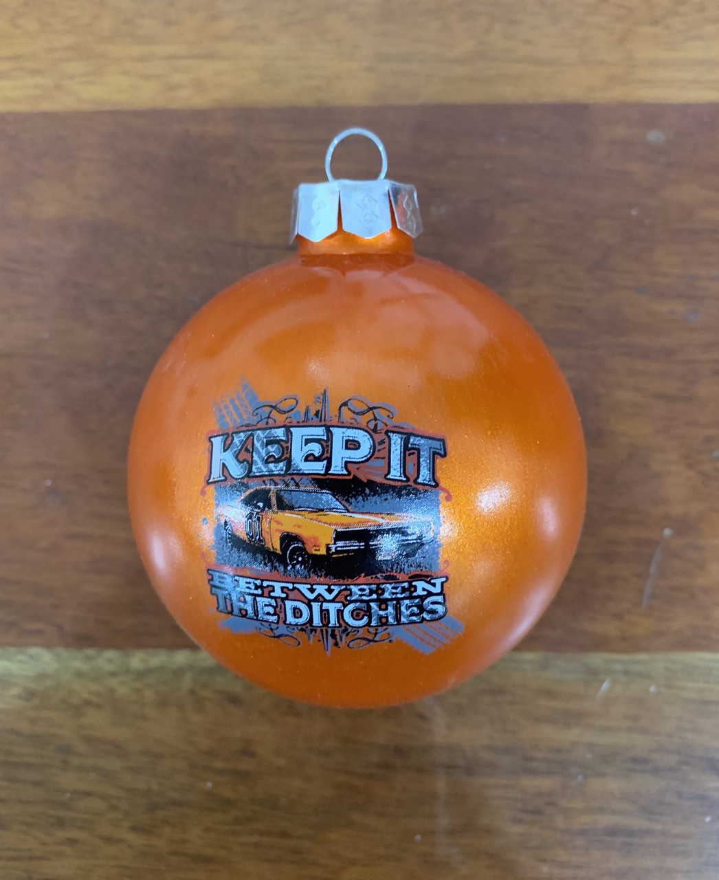 Cooter's Keep It Between The Ditches Christmas Ornament
