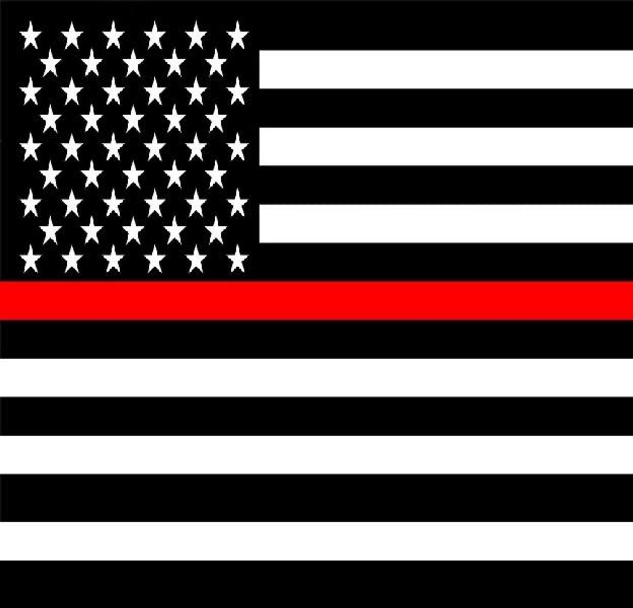 USA RED Line Bandana