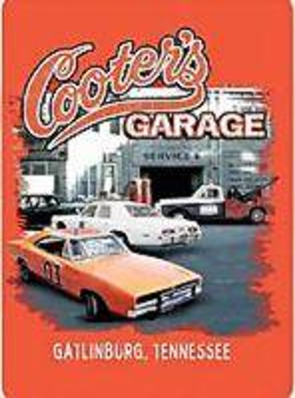 Magnet Cooter's Garage Front