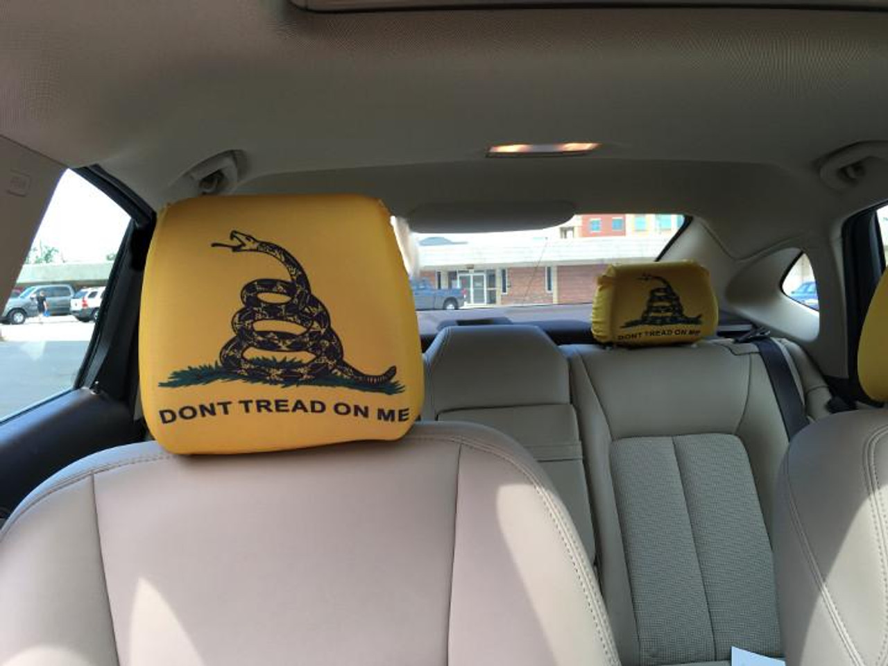 Headrest Cover Don't Tread On Me