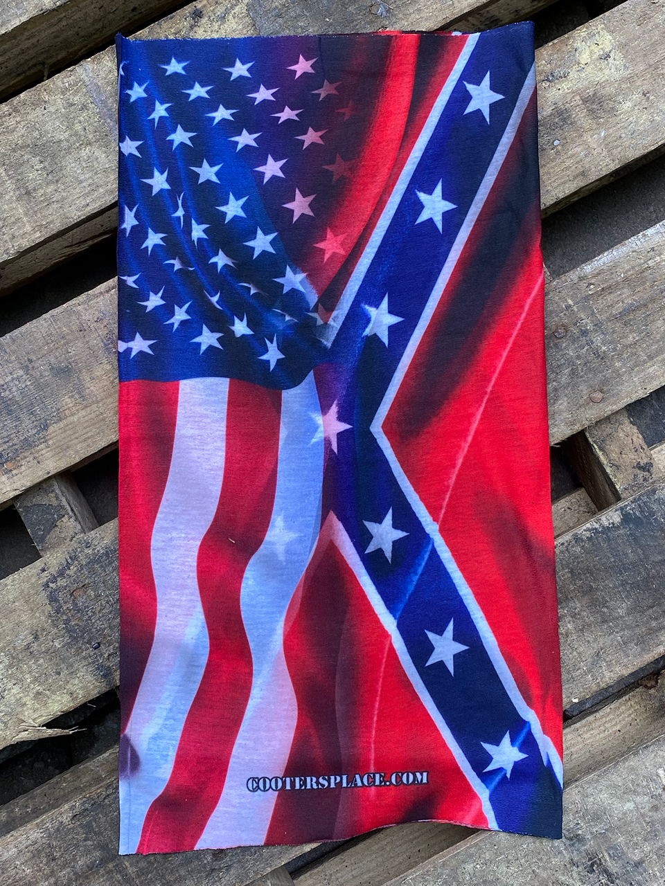 Flag BLENDED GAITER Face Shield Made in USA