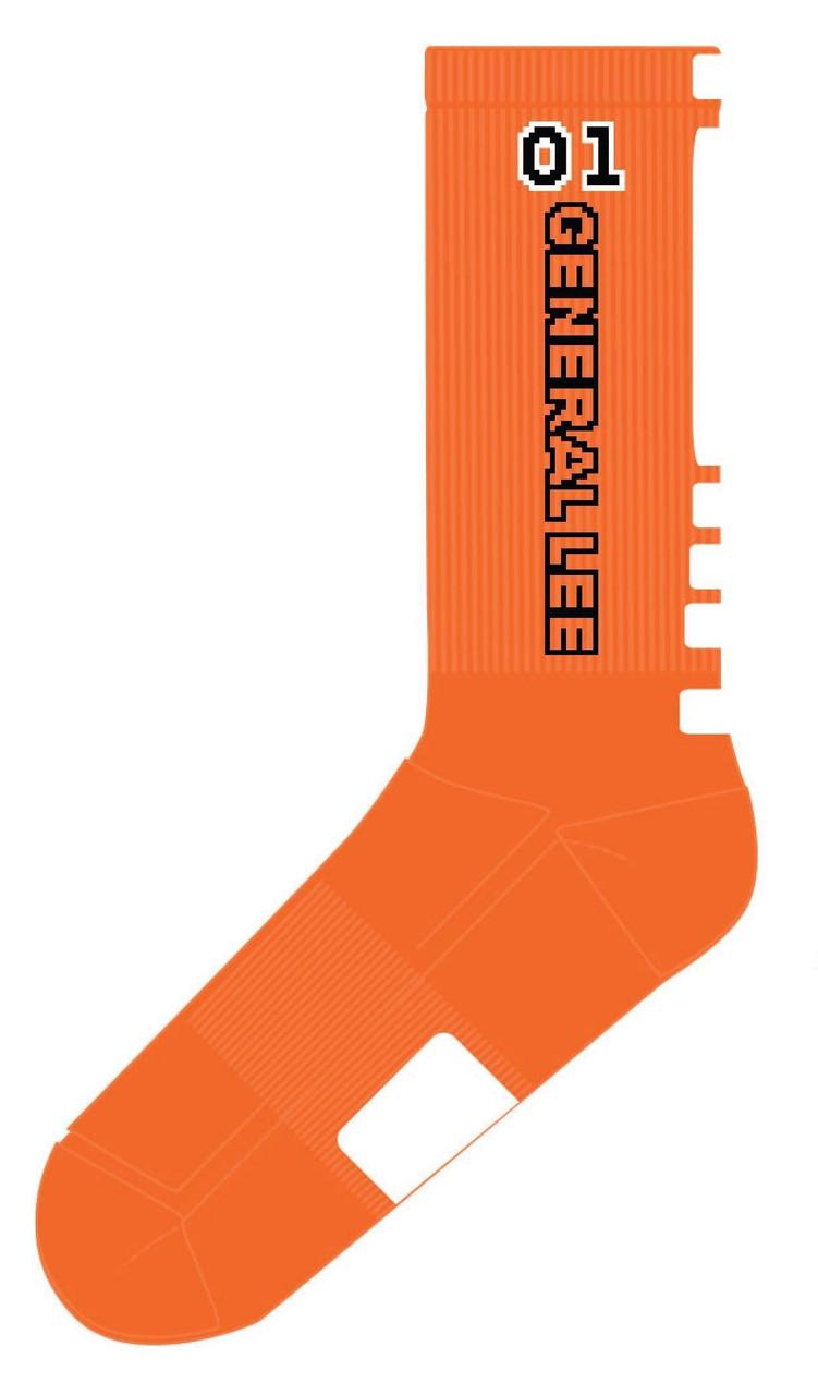 General Lee 01 Performance Socks (Orange)