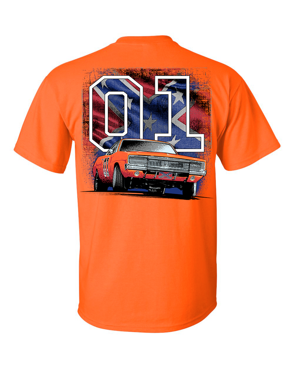 General Lee with Flag T-Shirt
