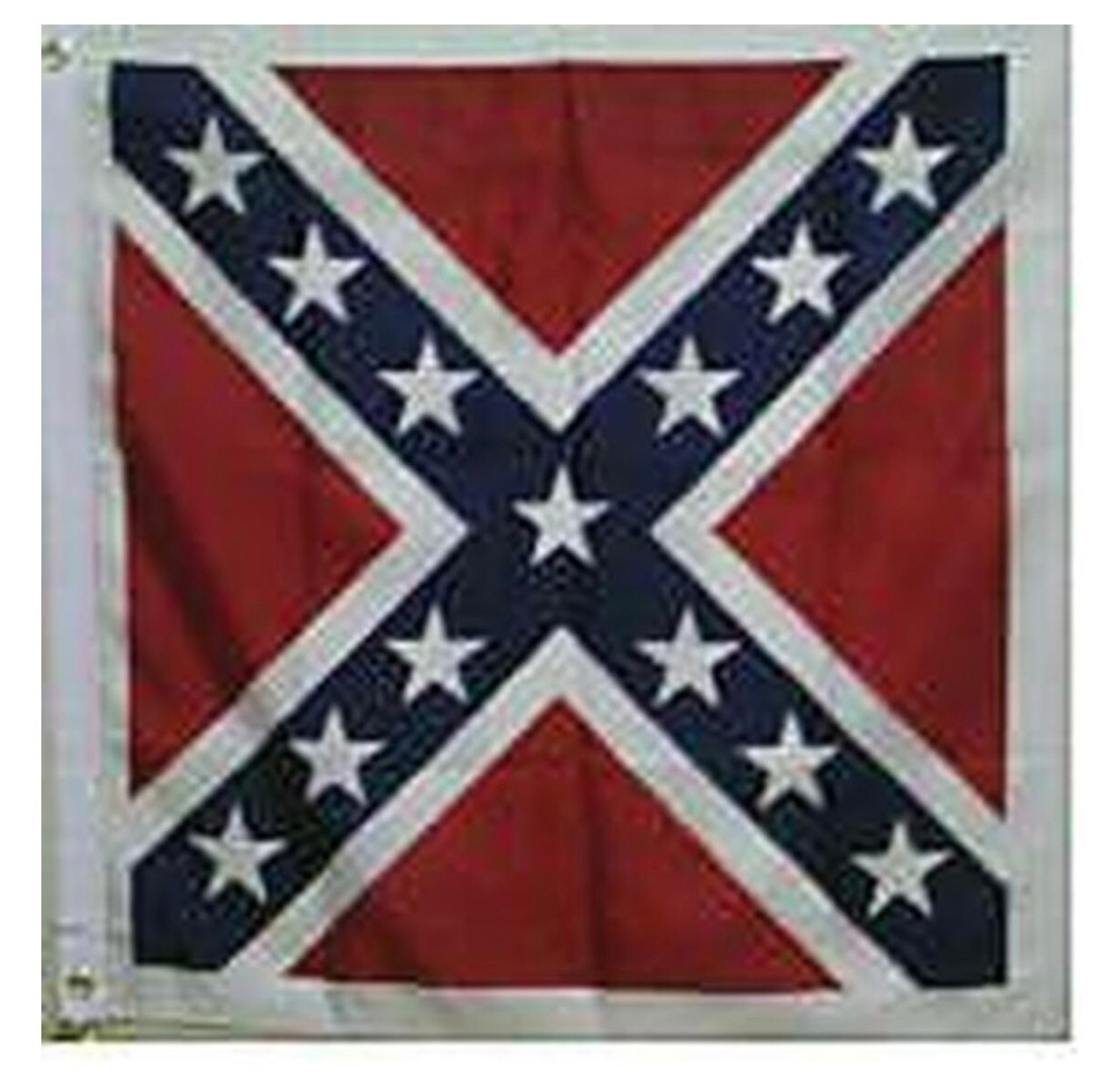 Confederate Battle Flag - Square POLYESTER 52x52