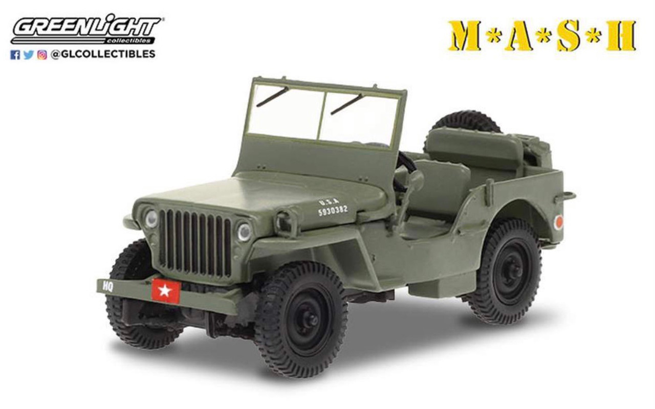 1:43 M*A*S*H (1972-83 TV Series) - 1942 Willys MB Jeep