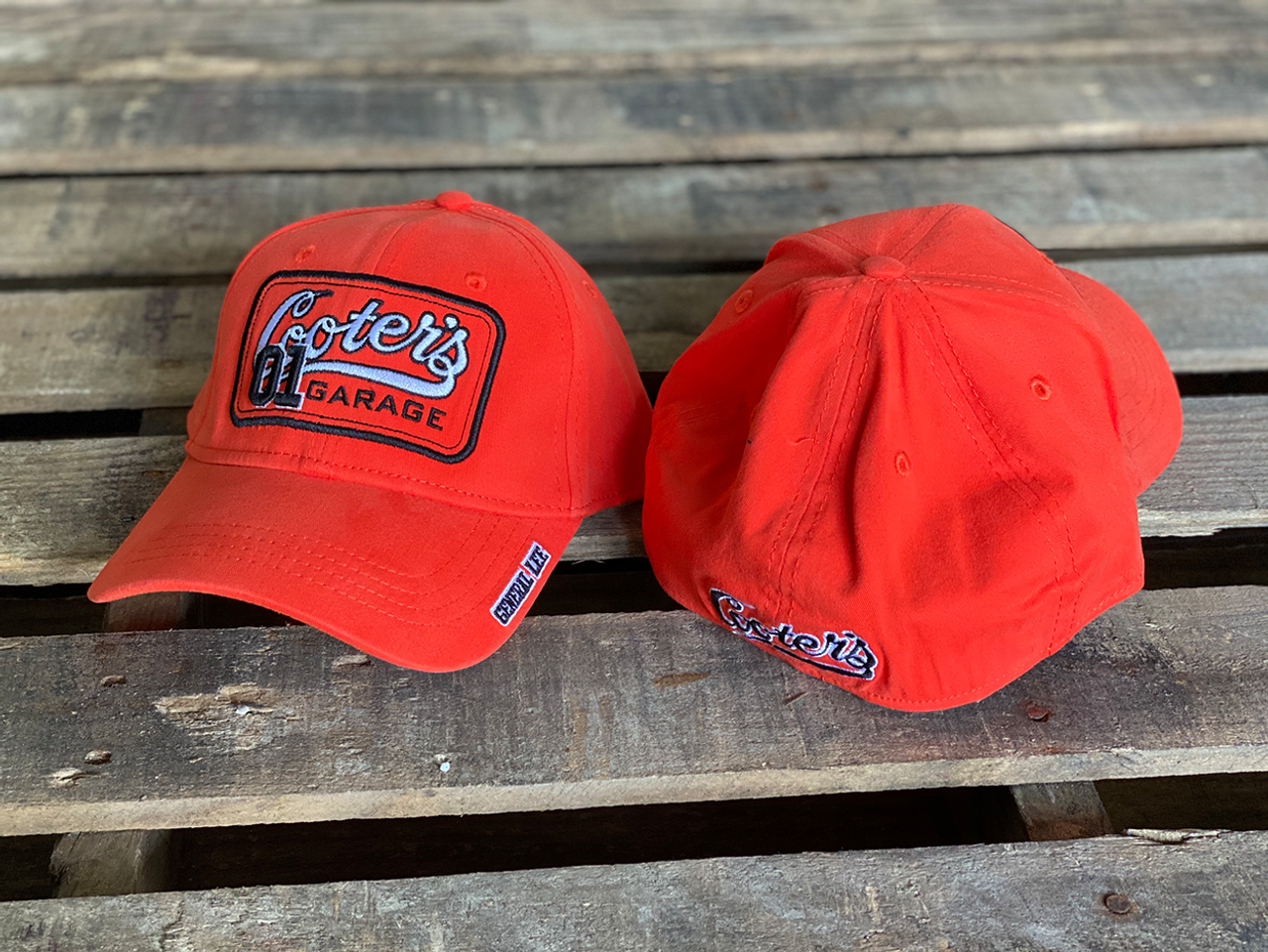 Cooter's Garage Patch Fitted Hat