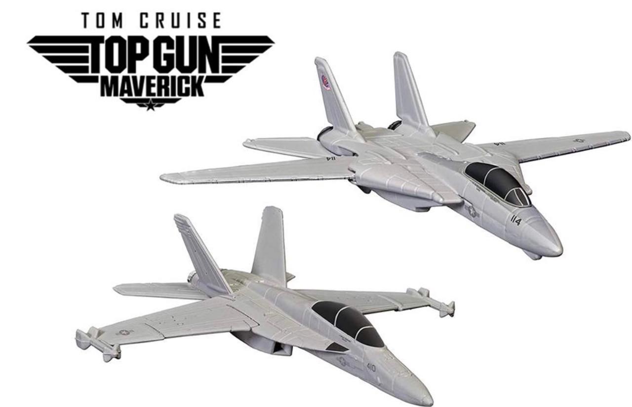 Maverick & Goose's F14 (Top Gun - 1986) & Rooster's F18 (Top Gun Maverick - 2021)