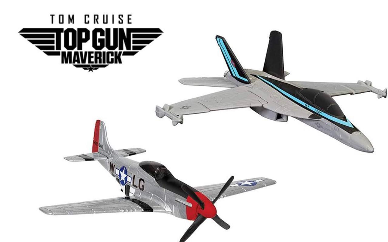 Maverick's F18 & P51D (Top Gun Maverick - 2021)