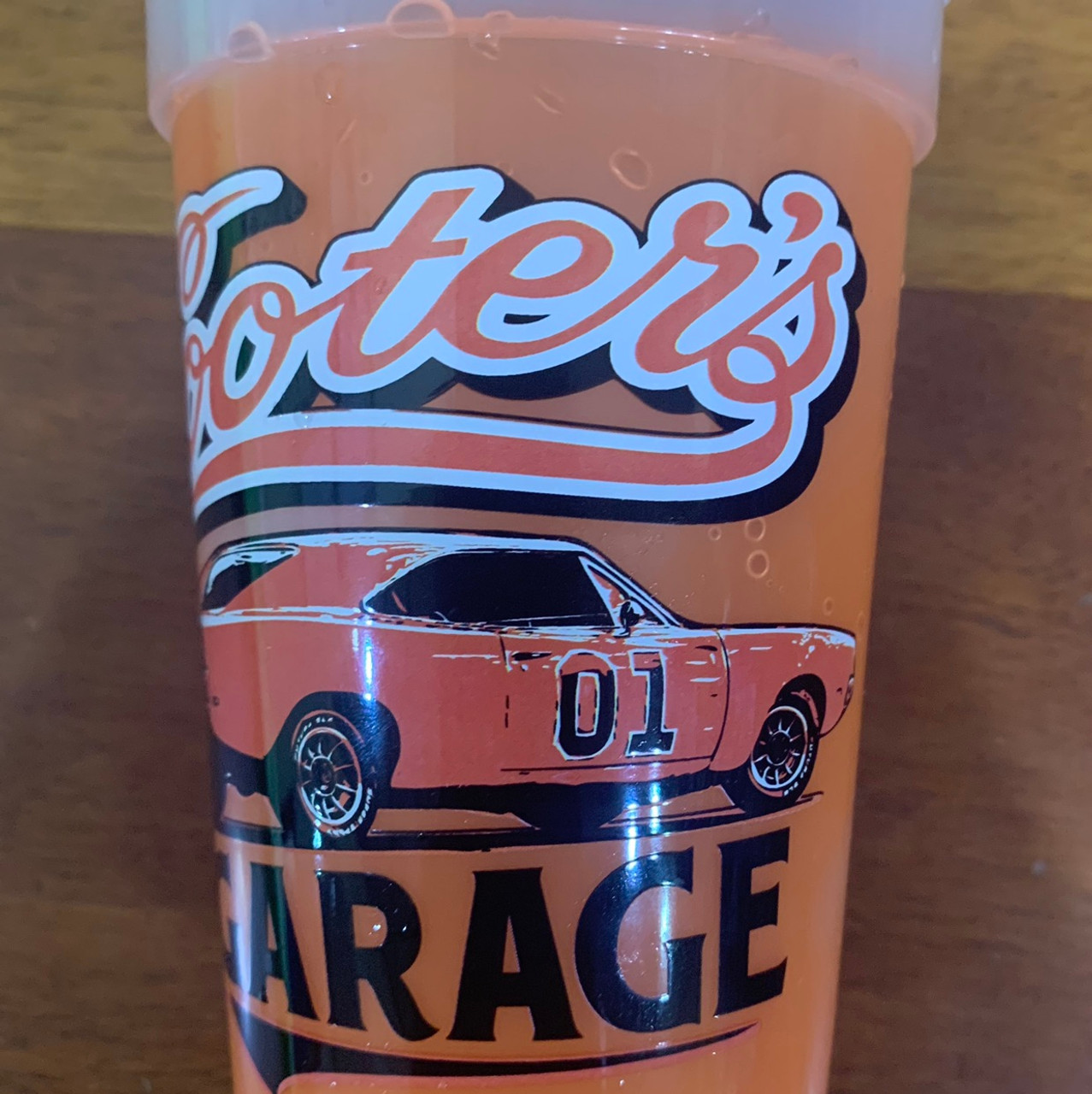 Cooter's Garage Color Changing Plastic Cup 16oz