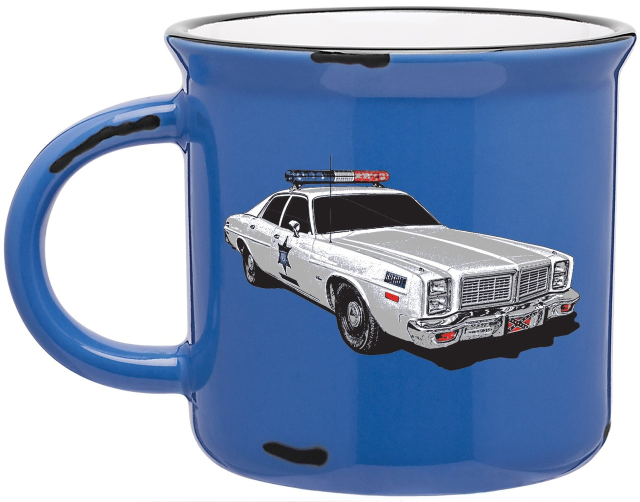 Vintage Hazzard County Sheriff Dept Coffee Cup (15oz).