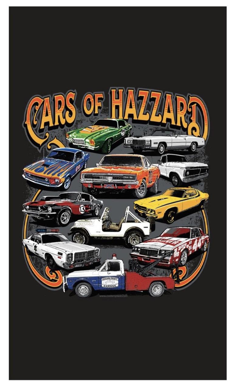 Cars of Hazzard Fleece Blanket