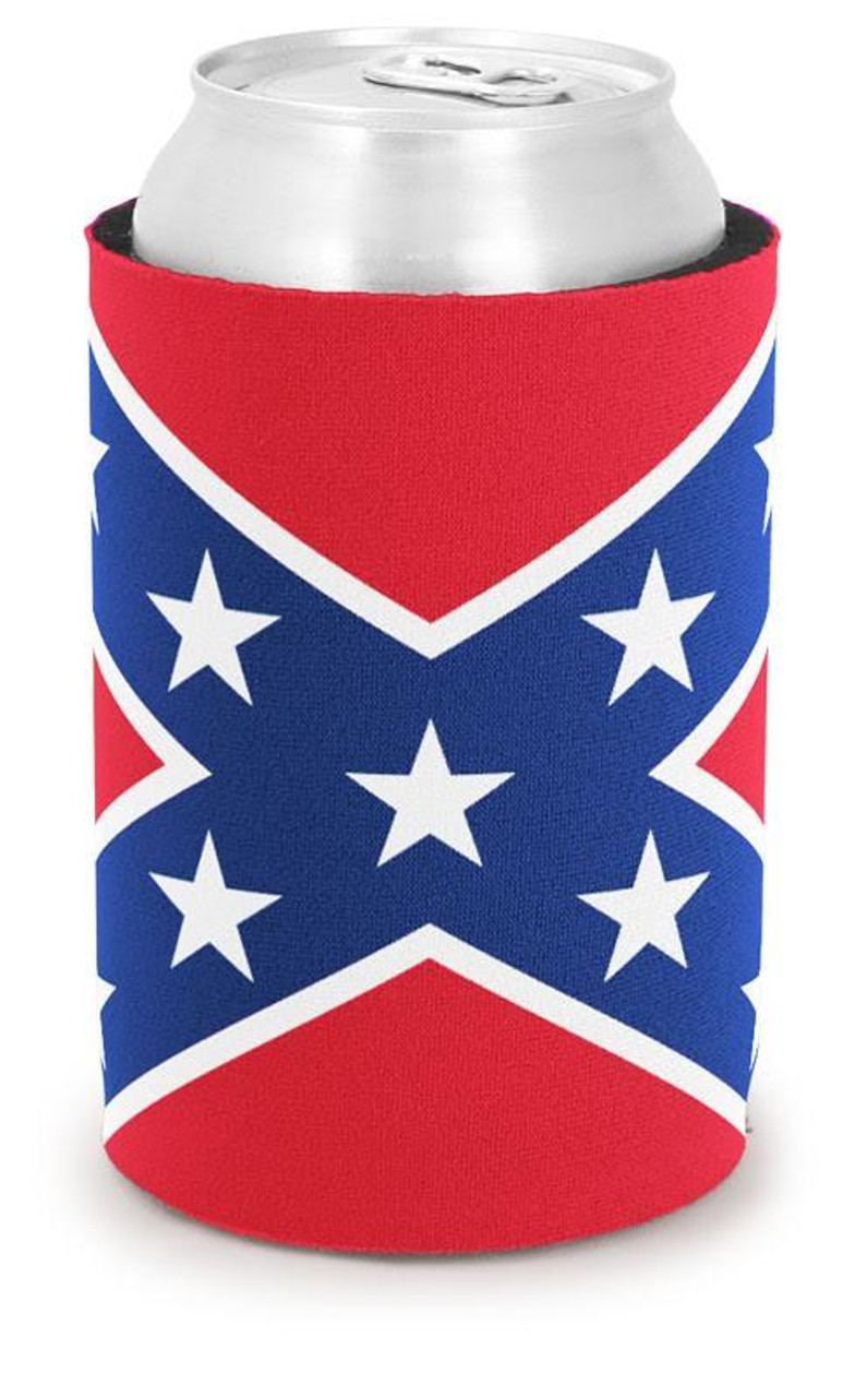 Can Coolie Confederate Flag Cooter's On The Bottom
