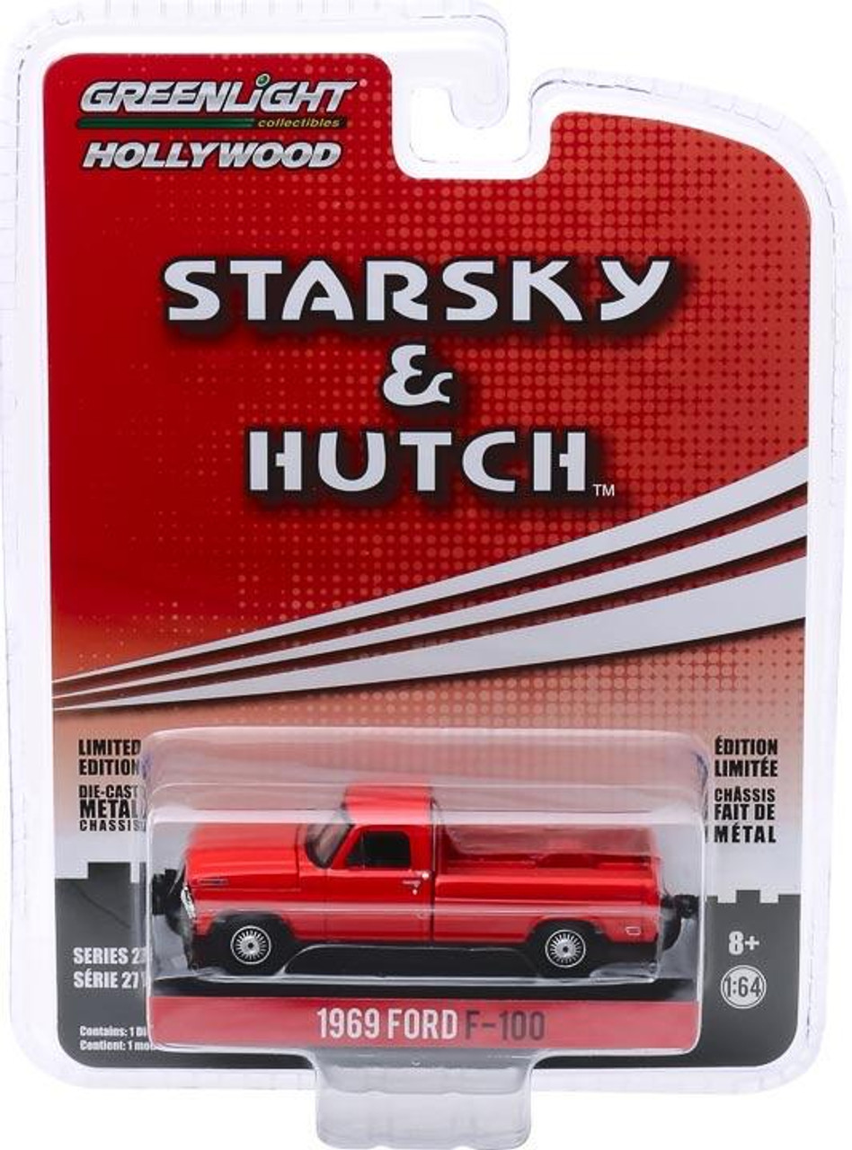 1:64 Hollywood Series 27 - Starsky and Hutch (1975-79 TV Series) - 1969 Ford F-100 Solid Pack