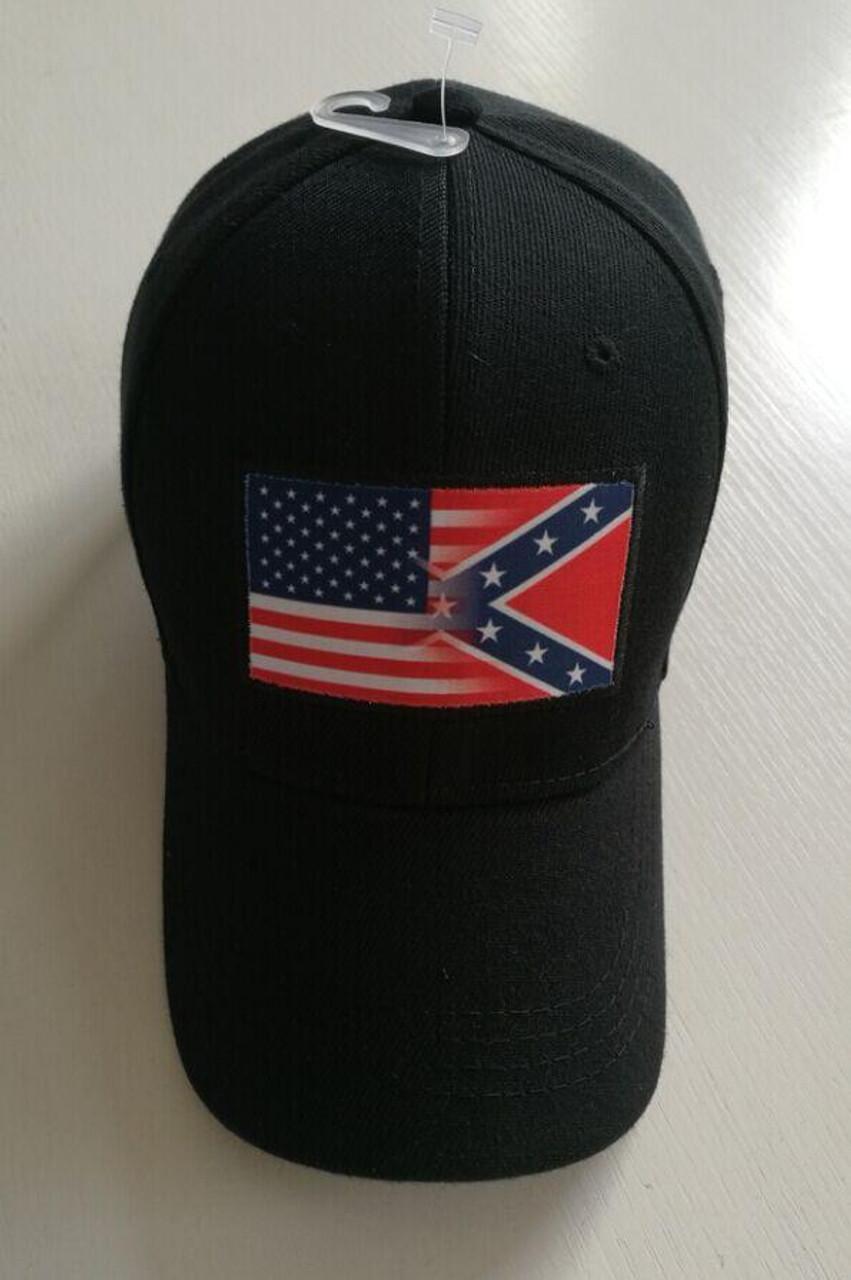 USA/Confederate Combo Hat