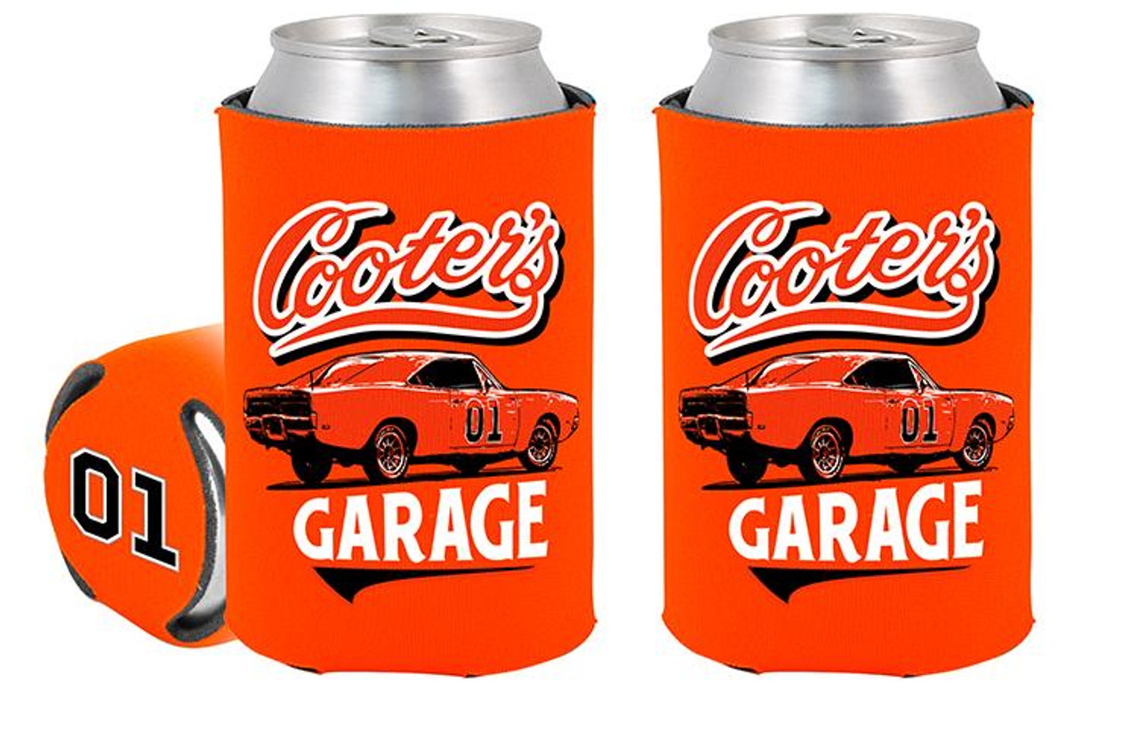Can Coolie Cooter's Garage Classic Orange