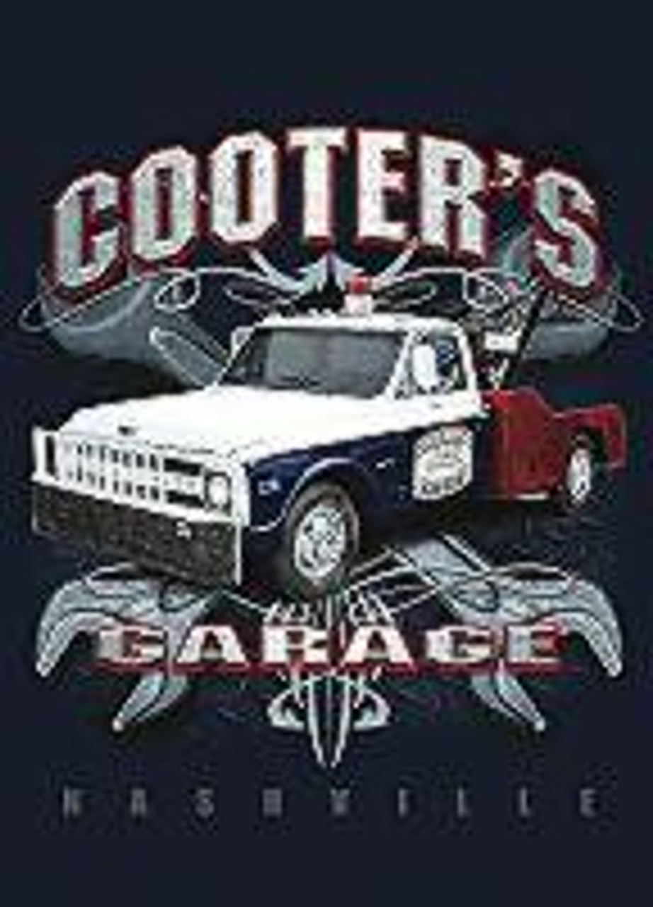 Magnet Cooter's Garage Tow Truck