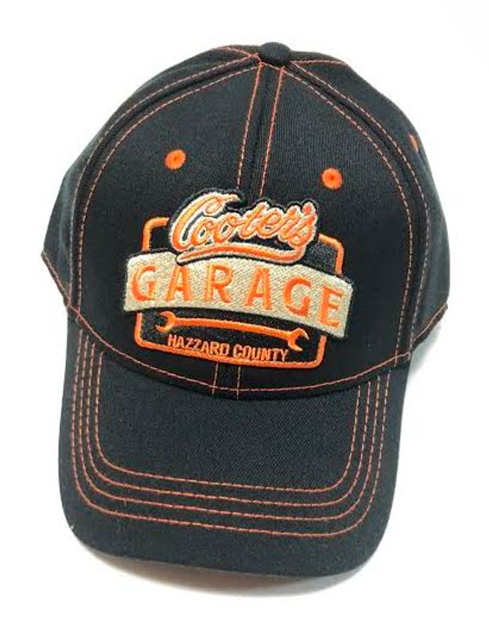 Cooter's Garage Fitted Hat (Black)