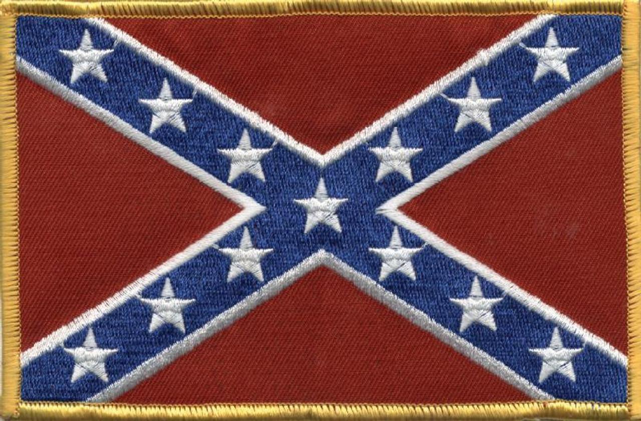 Confederate Flag Patch