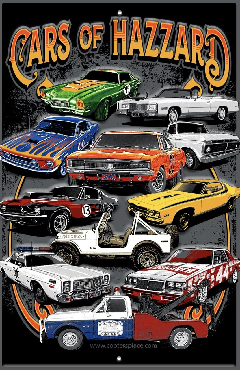 Magnet Cooter's Cars of Hazzard