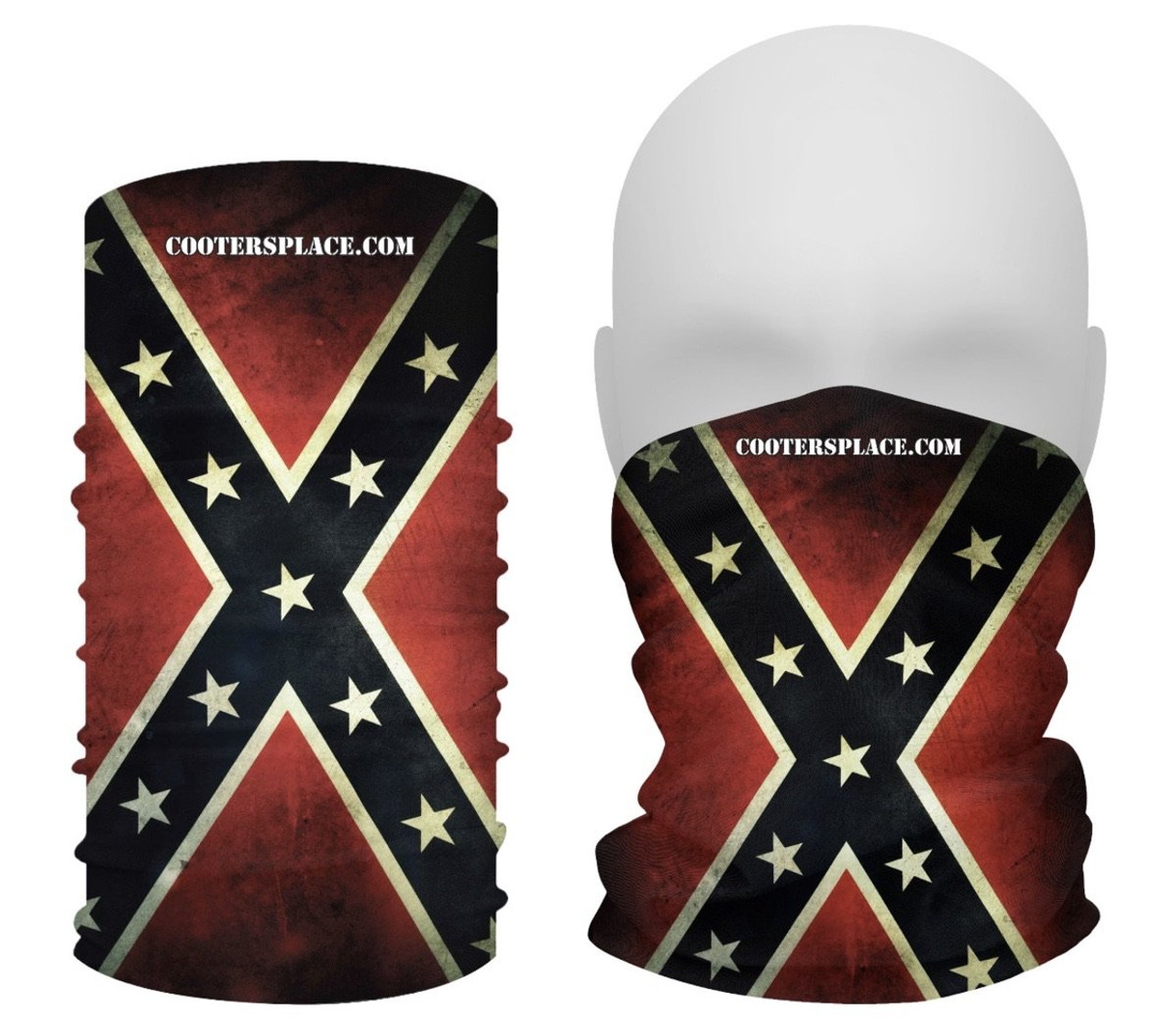 Flag VINTAGE GAITER Face Shield Made in USA