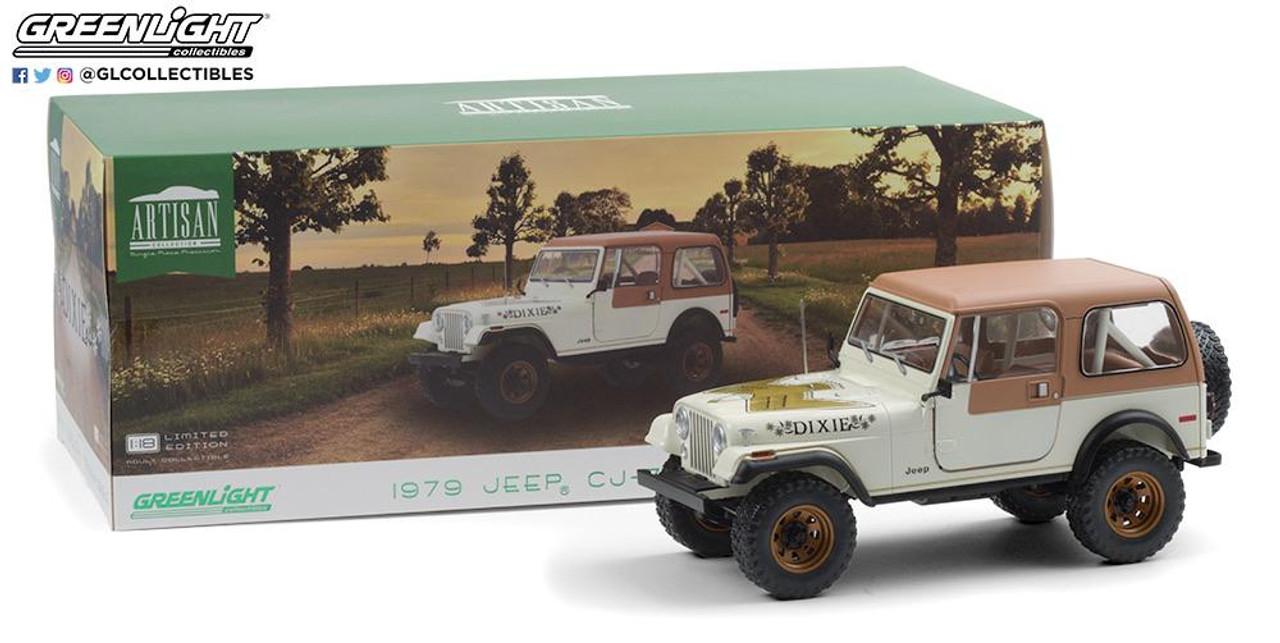 "Daisy's 1:18 Scale 1979 Jeep CJ-7 Golden Eagle ""Dixie"""