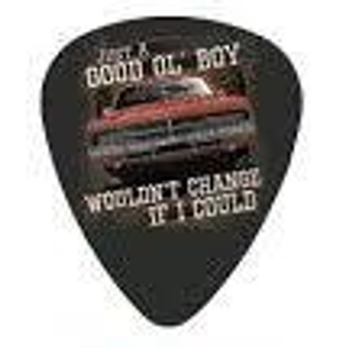 "Guitar Pick ""Wouldn't Change If I Could"""