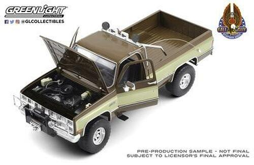 NOVEMBER 2020 PRE-ORDERS ONLY 1:18 Fall Guy Stuntman Association - 1982 GMC K-2500 Sierra Grande