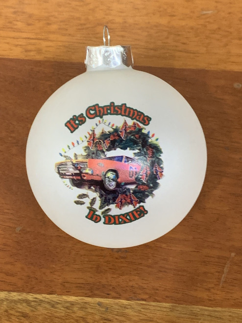 Cooter's Christmas in Dixie Christmas Ornament