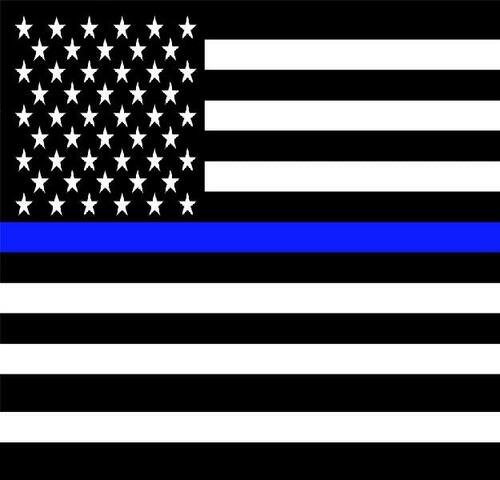 USA Blue Line Bandana