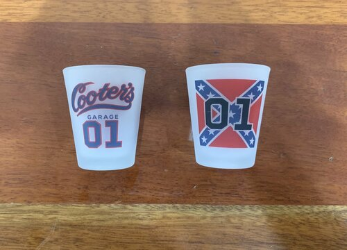 Cooter's Rebel 01 Shot Glass