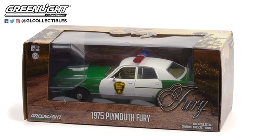 1:24 1975 Plymouth Fury - Chickasaw County Sheriff