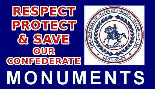 Sticker Save Our Confederate Monuments-