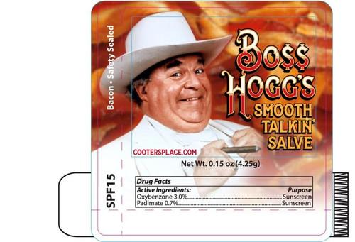 Boss Hogg Lip Balm (Bacon Flavor)
