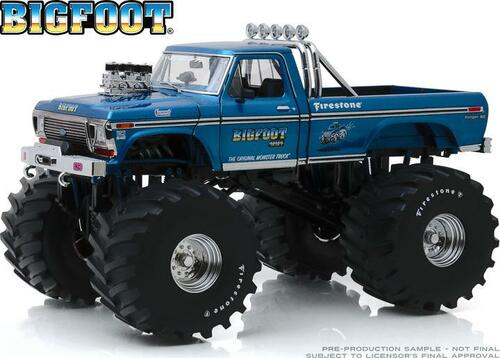 1:18 Kings of Crunch - Bigfoot #1 - 1974 Ford F-250 Monster Truck with 66-Inch Tires