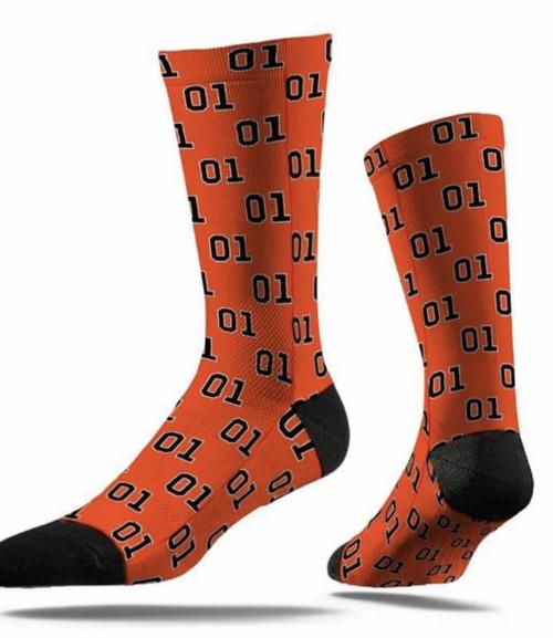 Orange 01 Socks