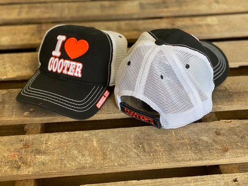 I Heart Cooter Trucker Hat