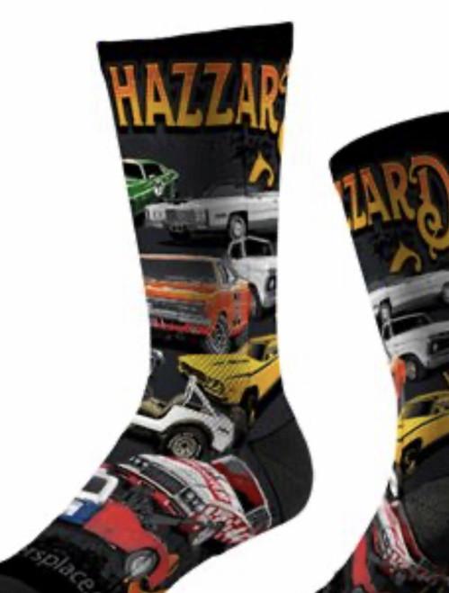 Cars of Hazzard Socks