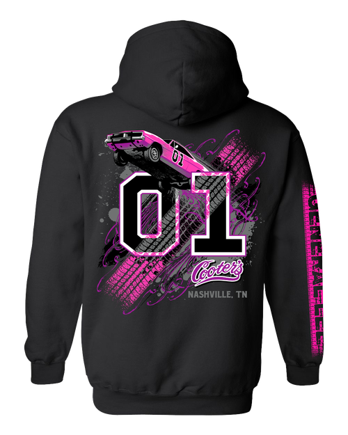 Ladies Cooter's Keep It Between the Ditches Hooded Pullover Sweatshirt