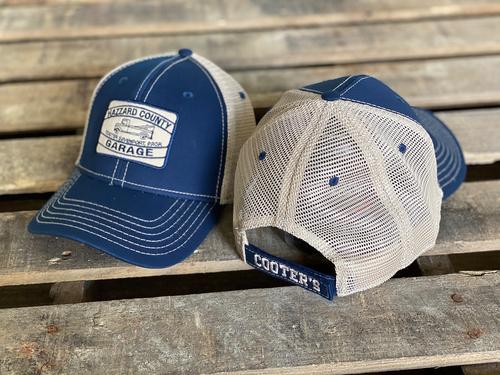 Cooter's Garage Logo Trucker Hat (HT76 Navy) (HT77 Grey)