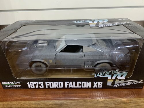 1:18 Last of the V8 Interceptors (1979) - 1973 Ford Falcon XB (Weathered Version)