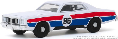 "1:64 Scale ""Enos Race Car"" 1976 Plymouth Fury - Hazzard County Road Rally #86"