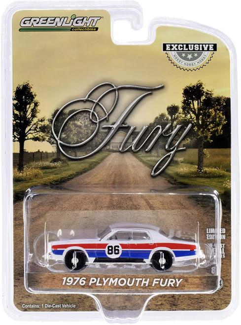 "1:64 Scale ""Enos Race Car"" 1976 Plymouth Fury - Hazzard County Road Rally #86"