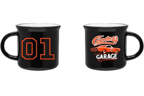 Vintage Cooter's Garage General Lee Coffee Cup