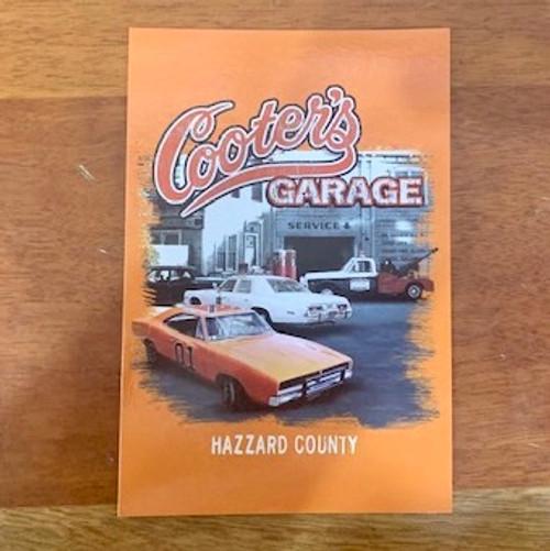 Postcard Cooter's Garage