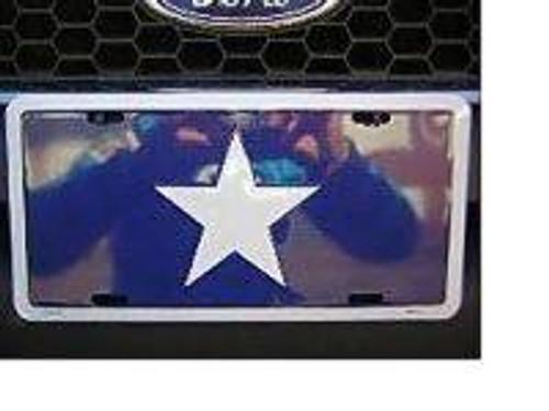 Bonnie Blue Confederate Flag License Plate