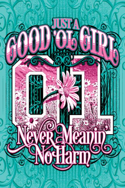 Postcard Daisy Good Ol' Girl