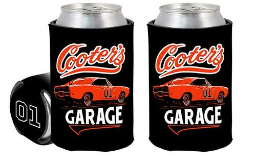 Can Coolie Cooter's Garage Classic Black
