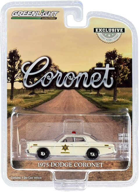 "1:64 1975 Dodge Coronet ""Hazzard County Sheriff"""