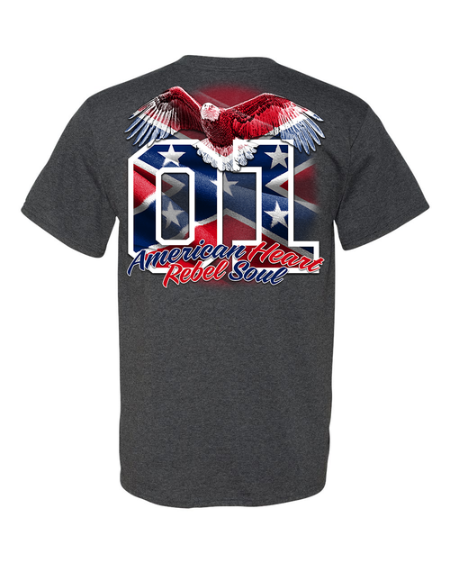 American Heart Rebel Soul T-Shirt