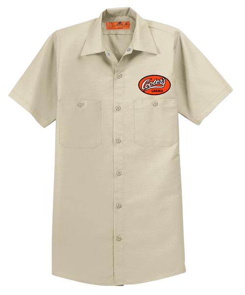 Cooter's Garage Short Sleeve Mechanic Shirt